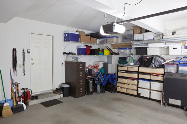 organized garage floor plan