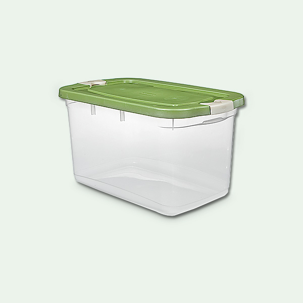 read before you organize your garage clear plastic storage bin