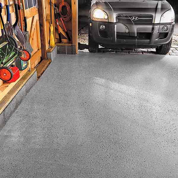 read before you organize your garage epoxy coated garage floor
