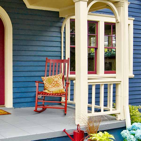curb appeal boost on budget cottage painted windows
