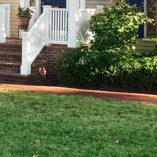 curb appeal boost on budget cape cod style home landscaping