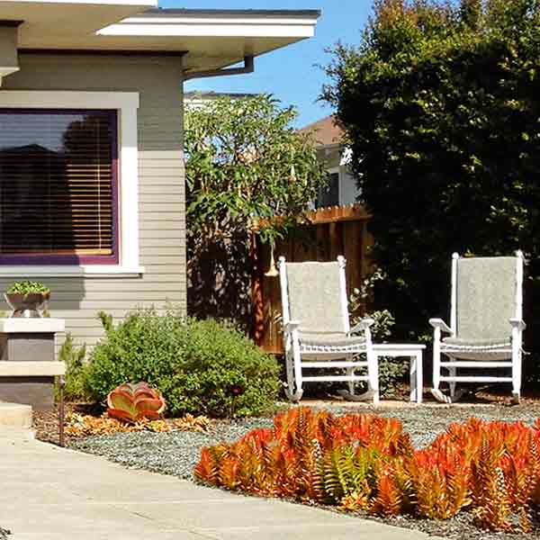 curb appeal boost on budget prairie-style bungalow landscaping