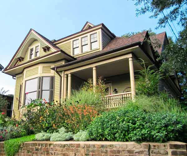 curb appeal boost on budget queen anne style home with original windows