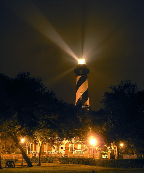 St. Augustine Lighthouse and Keepers' House, florida, historic haunted houses
