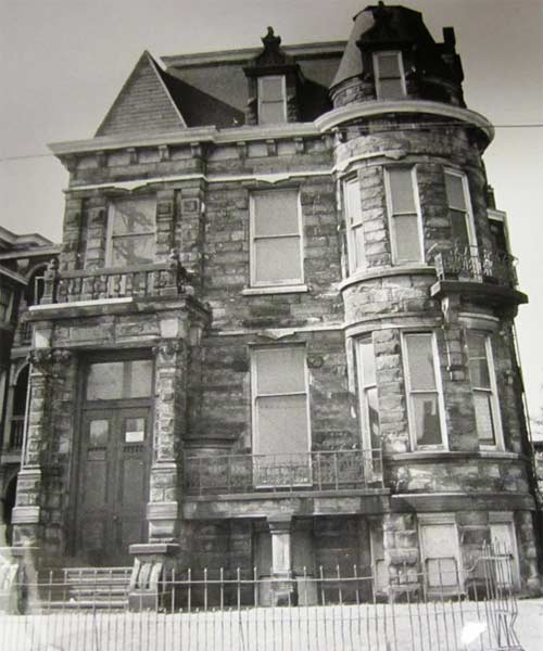Tiedemann House/Franklin Castle, cleveland ohio, historic haunted houses