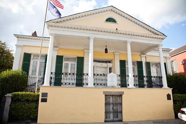 The Beauregard-Keyes House, french quarter new orleans louisiana, historic haunted houses