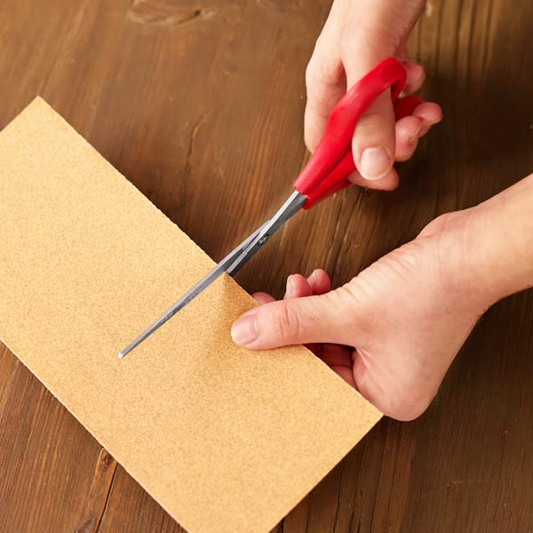 10 uses for sandpaper, get sticky residue off of scissors