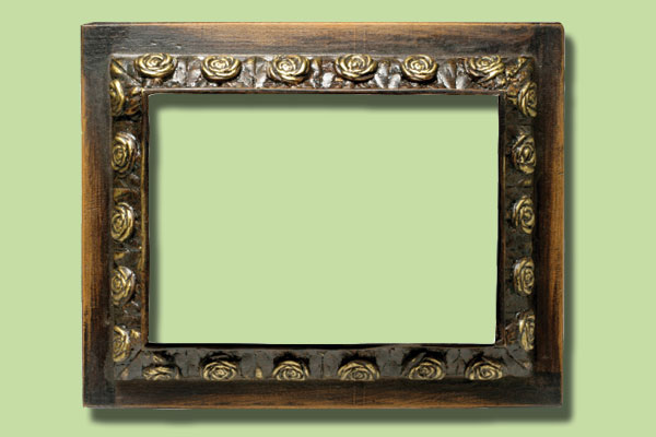 antique picture frame for a home message center, hardware cloth 10 uses