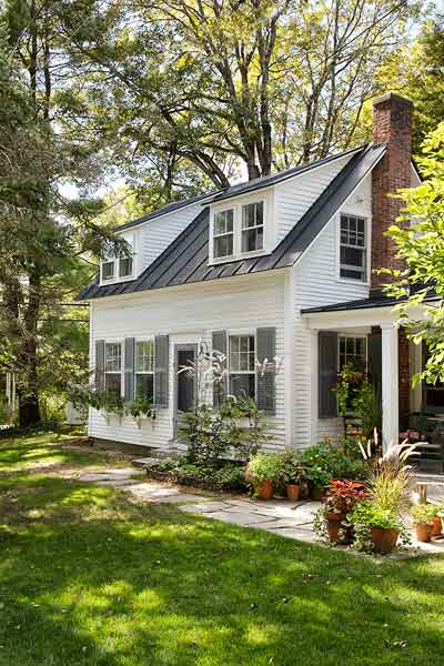 farmhouse whole house remodel exterior