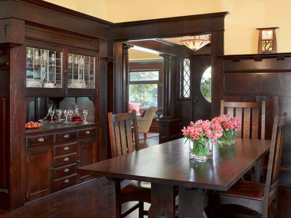 Revived Dining Room Cleaning Up A Classic Craftsman