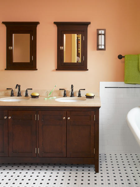 Bigger And Better Master Bath Cleaning Up A Classic