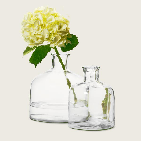 Glass Vases for creating a Vintage Industrial Study