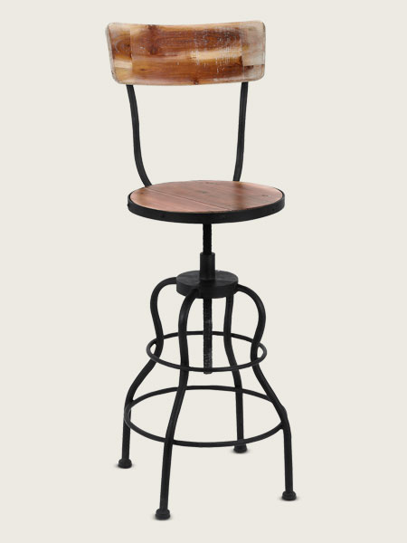 Drafting Stool Create A Vintage Industrial Study This