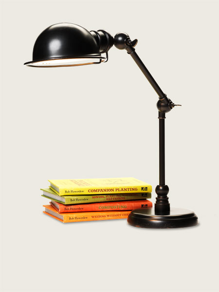 Task Light for creating a Vintage Industrial Study