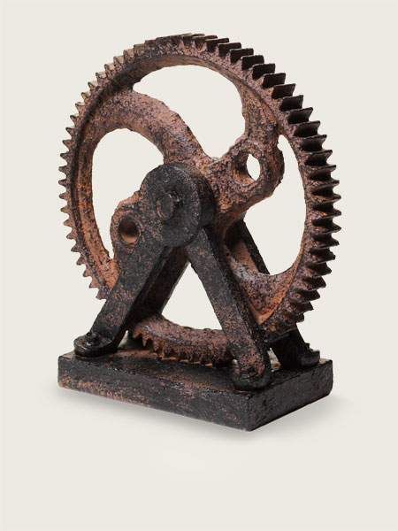 Machine Gear for creating a Vintage Industrial Study