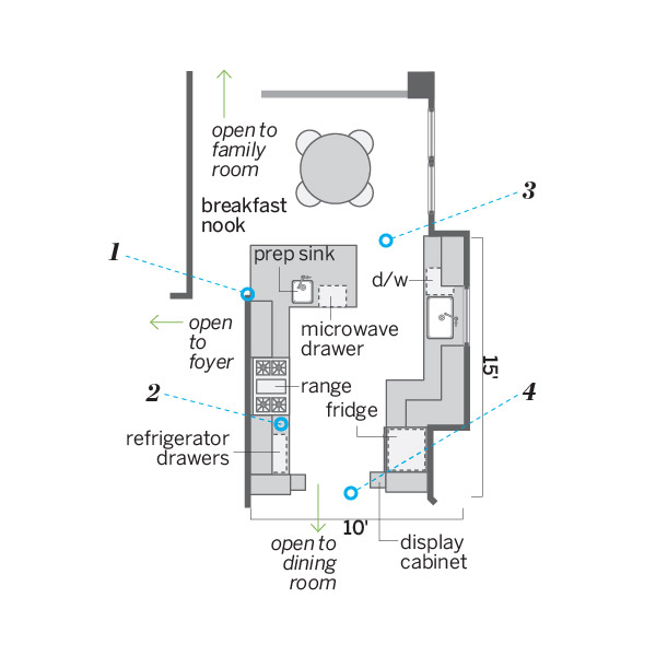 kitchen after redo floor plan