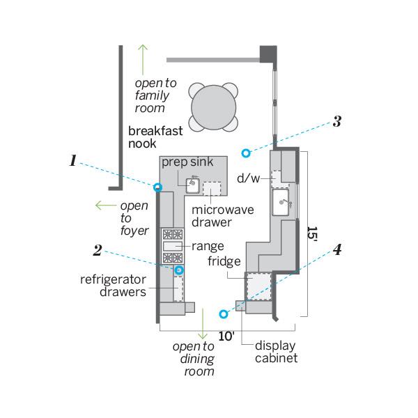 kitchen after redo floor plan
