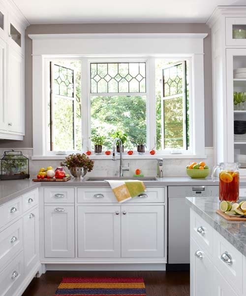 Kitchen Windows: Kitchen Is A Food Hub Made For