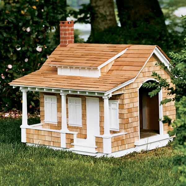 craftsman style doghouse