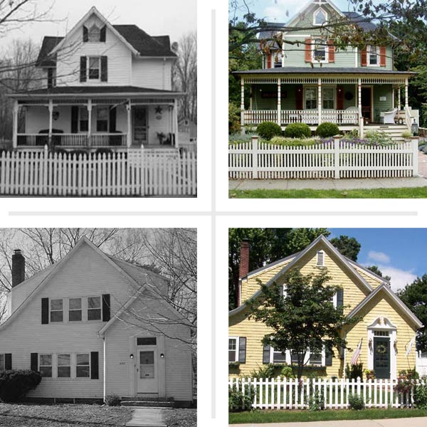 First impressions best curb appeal before and afters for Remodeling old homes