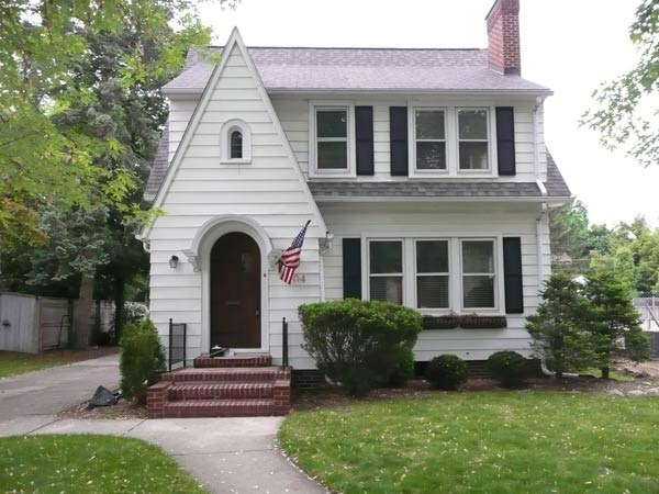 Shingle-Style Cottage: Before for the this old house reader remodel curb appeal contest 2013