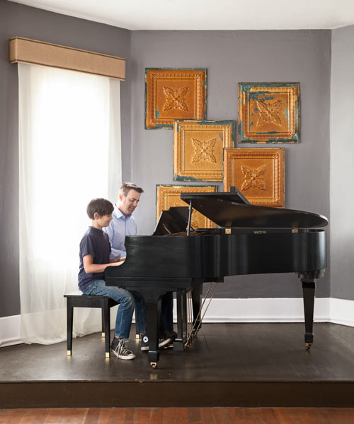 reader remodel contest winner 2013 whole house after space with piano for performances