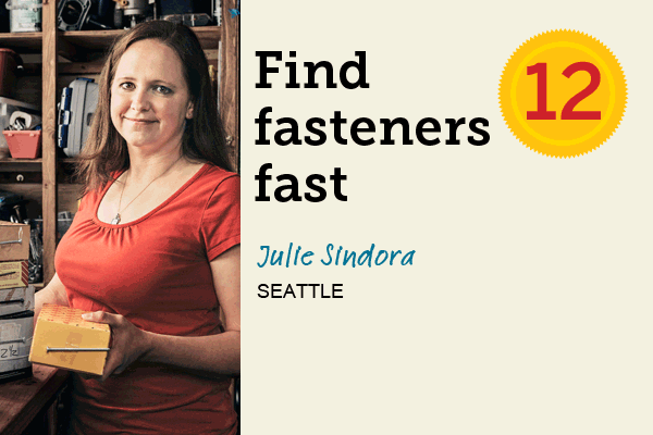Find Fasteners Fast for 27 Reader Tips That Save Time and Money