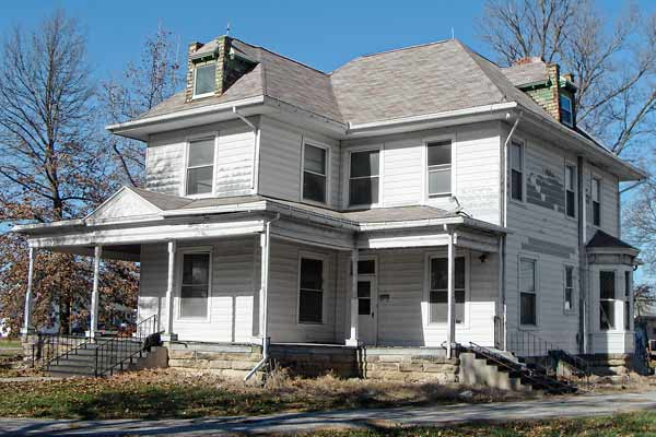 save this old house appleton city missouri queen anne white exterior