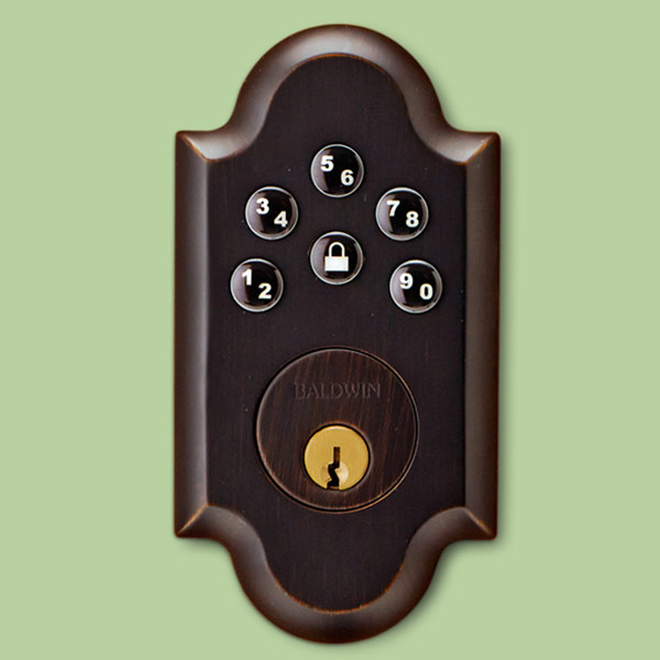 pricewise keyless lockset exterior keypad