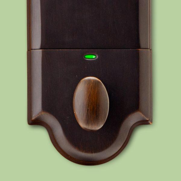 pricewise keyless lockset interior status of lock function