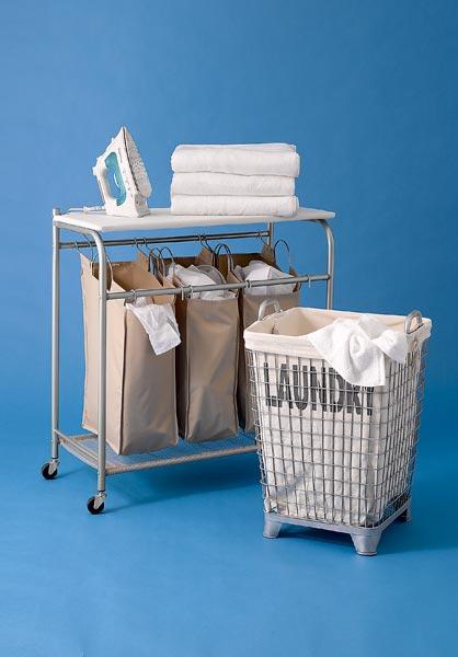 2 styles of laundry bin
