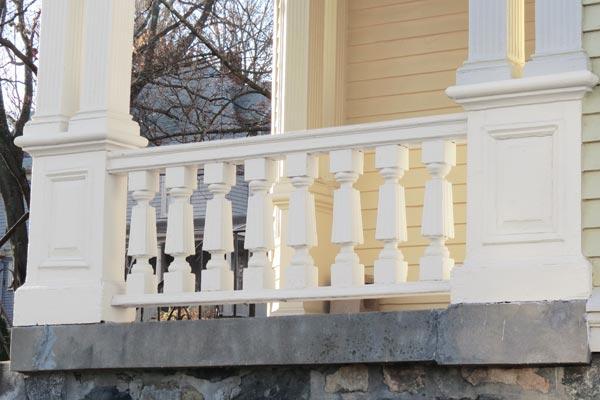 neighborhood inspiration for porch italianate style balusters, toh tv arlington italianate house project