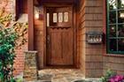 fiberglass front entry door