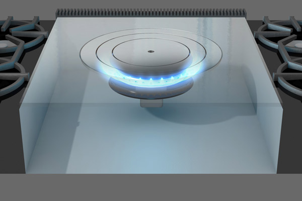 diagram of french top burner, all about pro style kitchen ranges