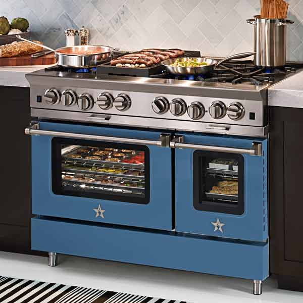 bluestar 48 inch range with two gas ovens, all about pro style kitchen ranges