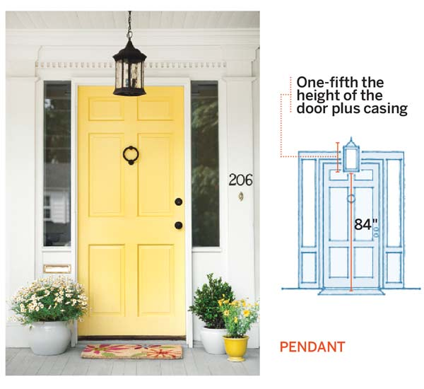 Design Math Pendant All About Front Entry Lighting