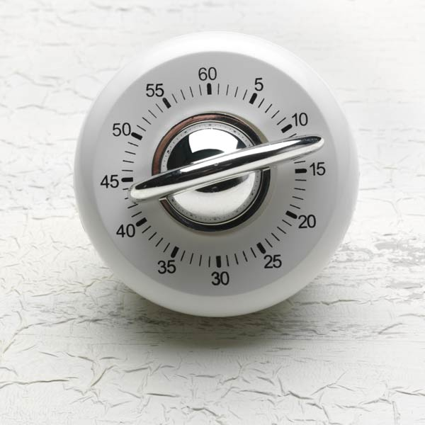 egg timer, new years diy resolutions
