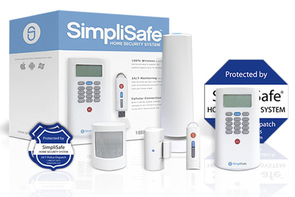 simplisafe wireless security alarm system, new years diy resolutions