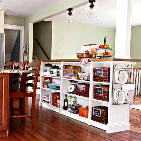 Diy Bookcase Kitchen Island: 9 Creative Low-Cost Upgrades