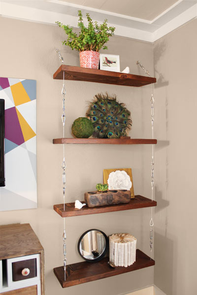 9 Cable And Turnbuckle Hanging Shelves 9 Creative Low