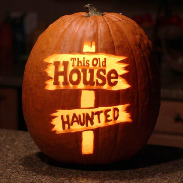 this old haunted house, Blake A. of West Jordan, UT, 2014 pumpkin carving contest winners