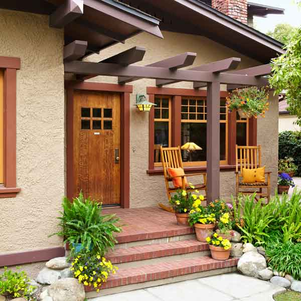 Home Design Ideas Front: Recrafting A 1915 Craftsman