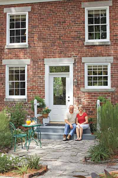 brick kitchen house cottage, whole house remodels of historic houses