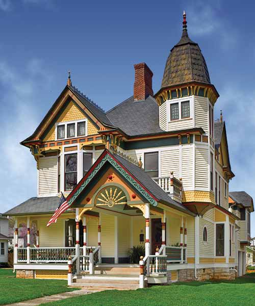 queen anne house, whole house remodels of historic houses