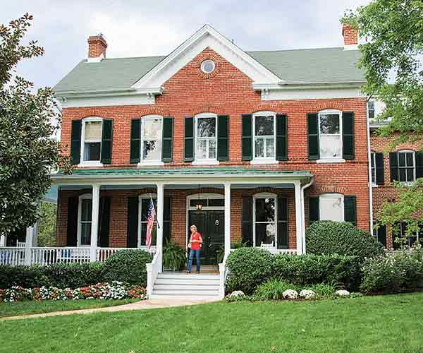 brick farmhouse, whole house remodels of historic houses