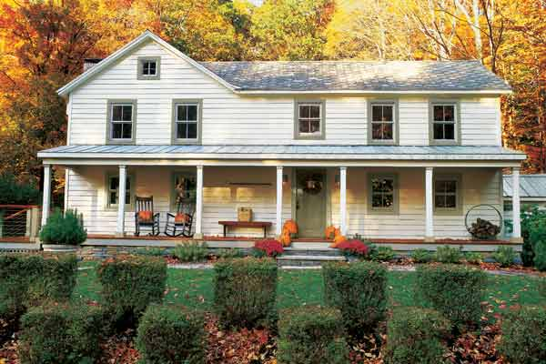 white farmhouse, whole house remodels of historic houses