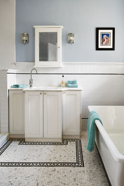 Period Style Diy Bath The Hidden Beauty In A 1920s