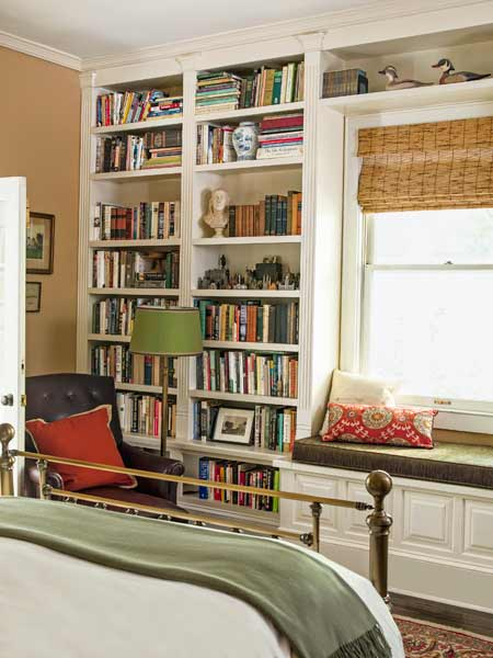 Late Addition Built In Bookcases A 1900 House With A