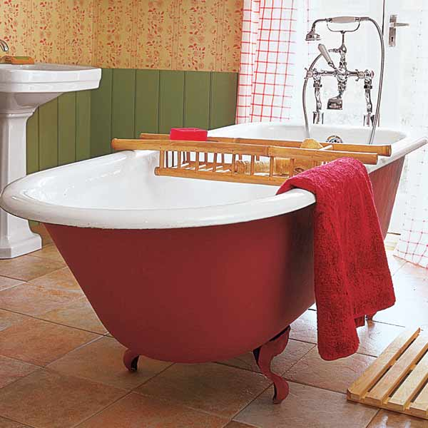 Hot Bathroom Colors 2018: Color Of The Month, June 2014: Cayenne