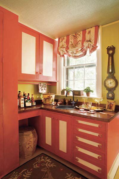 Spicy Kitchen Cabinets Color Of The Month June 2014